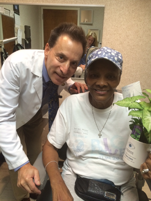 "Dr. Spier performed Dropless Cataract Surgery on our ""celebrity"" patient, Dionne Warwick"
